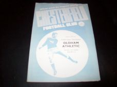 Chesterfield v Oldham Athletic, 1971/72